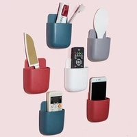 wall mounted storage box remote control storage box air conditioning remote control tv storage box phone holder