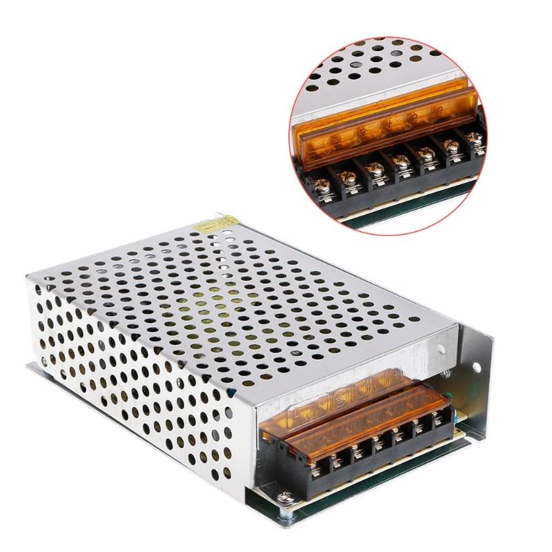 Adaptador de fuente de alimentación CA 100-220V a CC 10a 12V, tira de luz LED Q0KF