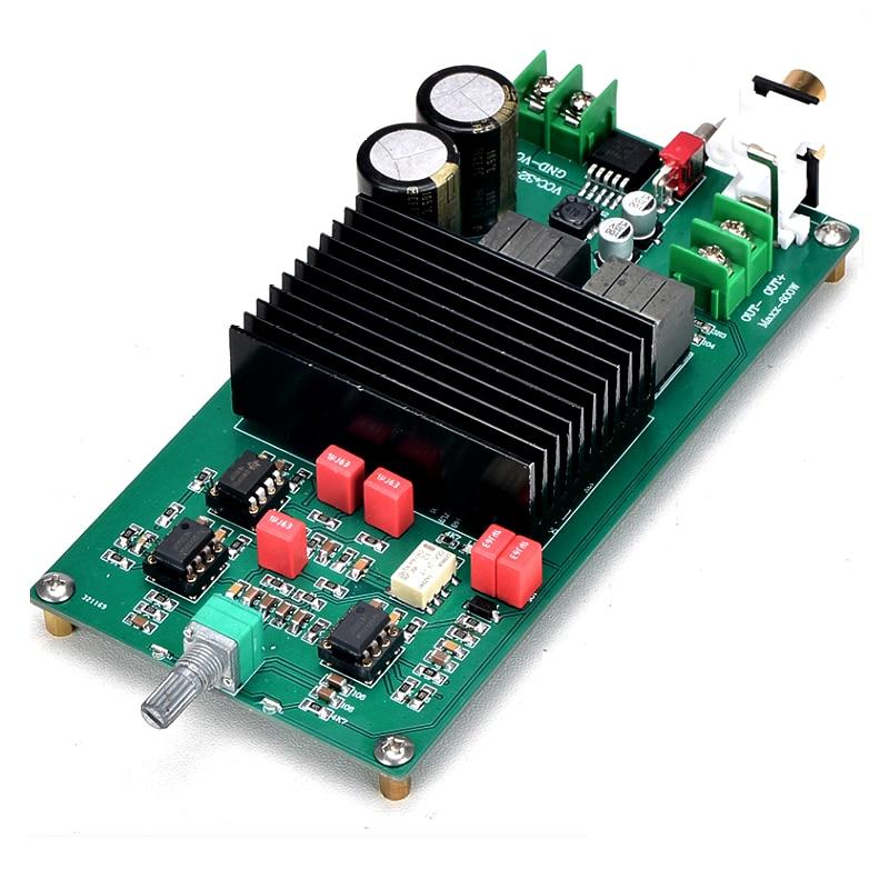 TPA3255 mono 600W DC30V-48V de alta potencia de frecuencia completa/subwoofer fever HIFI placa amplificadora de potencia digital Clase D