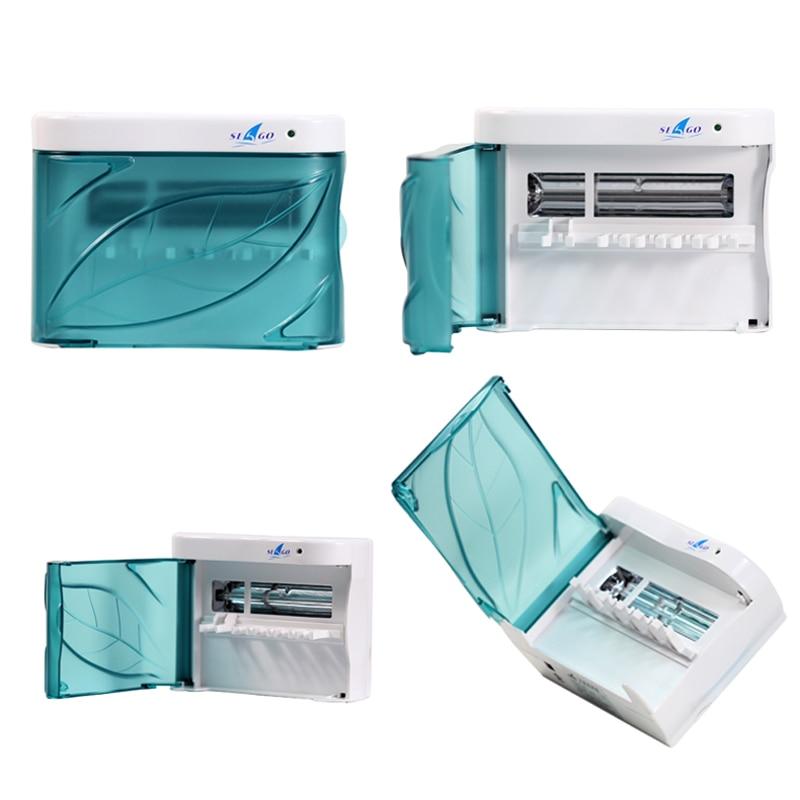 SAEGO, esterilizador de cepillo de dientes eléctrico multifuncional 2 en 1, recargable con batería, luz UV, Teethbrush, esterilizar, caja