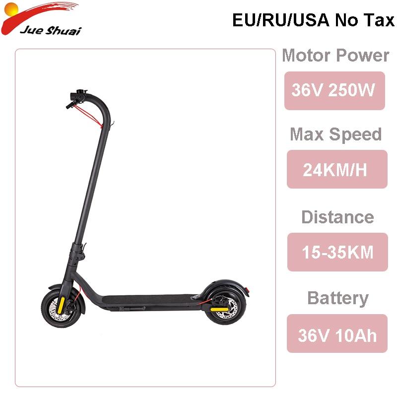 Scooter Eléctrico de larga distancia hasta 35KM con batería de 36V 10ah 8,5 pulgadas Longboard Patinete eléctrico plegable Patinete eléctrico adulto