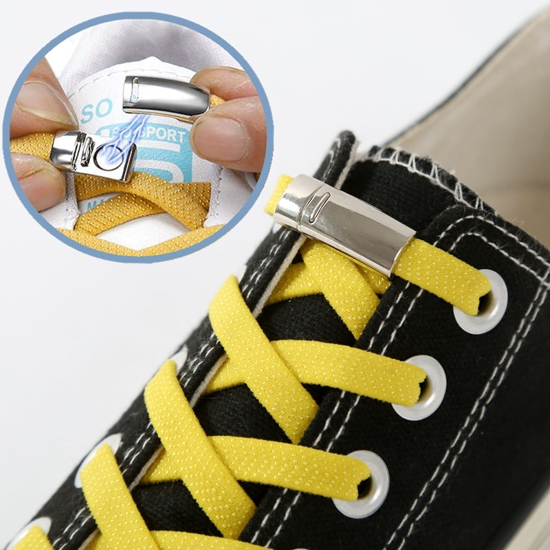 aliexpress.com - 1Pair Magnetic Shoelaces Elastic Locking ShoeLace Creative Quick No Tie Shoe laces Kids Adult Unisex Sneakers Shoe Laces