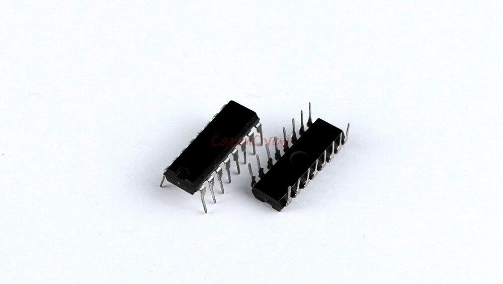 10 unids/lote SN74HC4053N 74HC4053N 74HC4053 DIP-16 nuevo original envío gratis en Stock