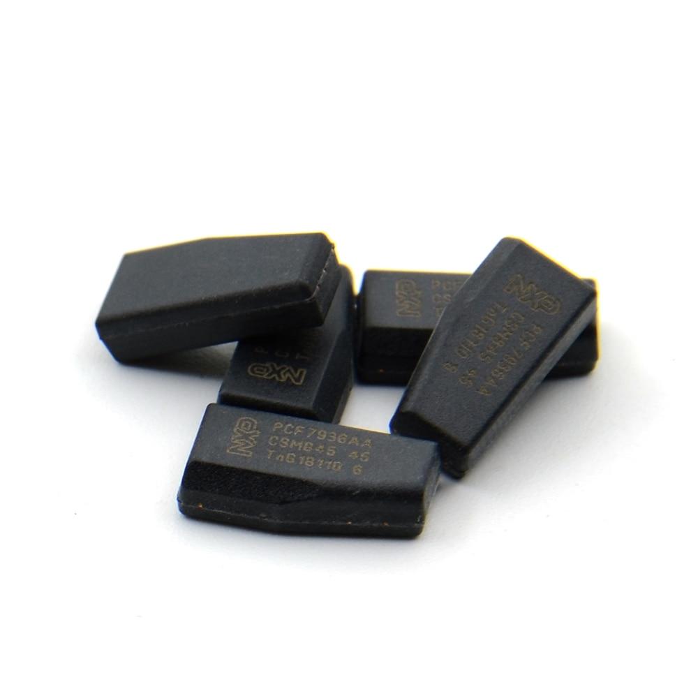Chip de llave de coche 10 Uds keydiy ORIGINAL PCF7935 AA PCF7936AS SOT385 chip de transpondedor de llave ID46 chip PCF7936/PCF7935 herramienta de cerrajero