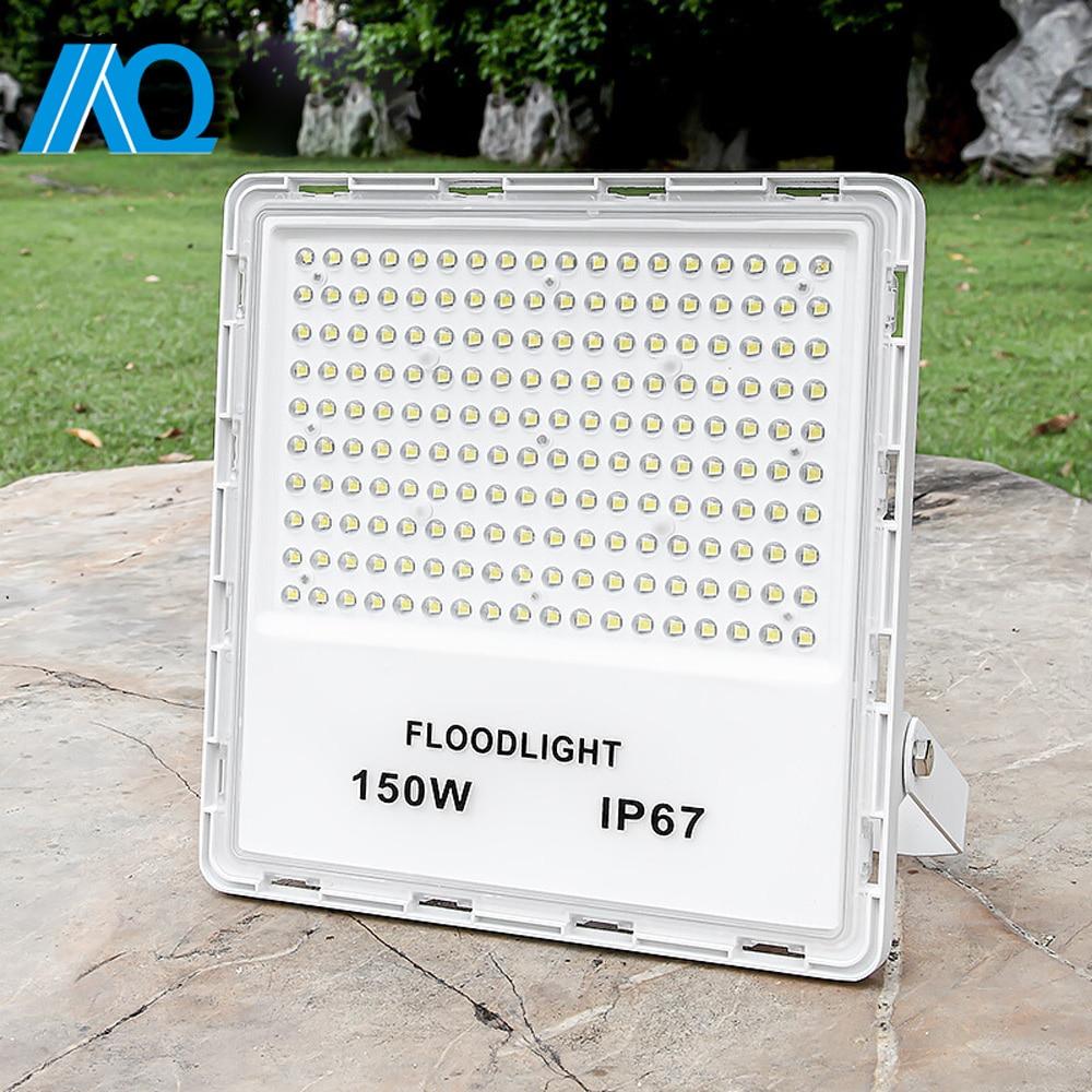Led Flood Light 30W 50W 100W 200W AC 110V 220V Outdoor Floodlight Spotlight IP65 Waterproof LED Street Lamp Landscape Lighting