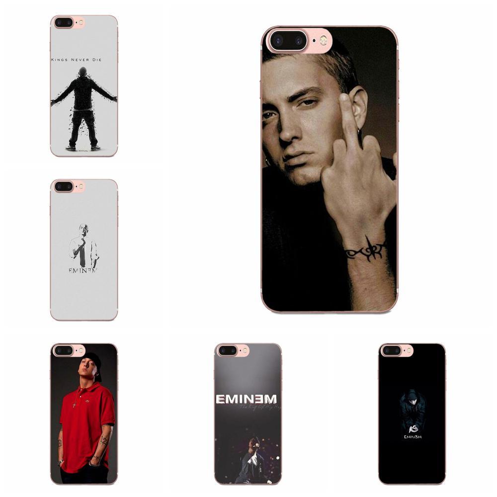 TPU nueva moda para Xiaomi CC9E Mi3 Mi4 Mi4i Mi5 Mi 5S 6 6X 8 9 SE jugar Plus Pro Lite A1 mezclar 2 Nota 3 Hip Hop rapero Eminem Rap