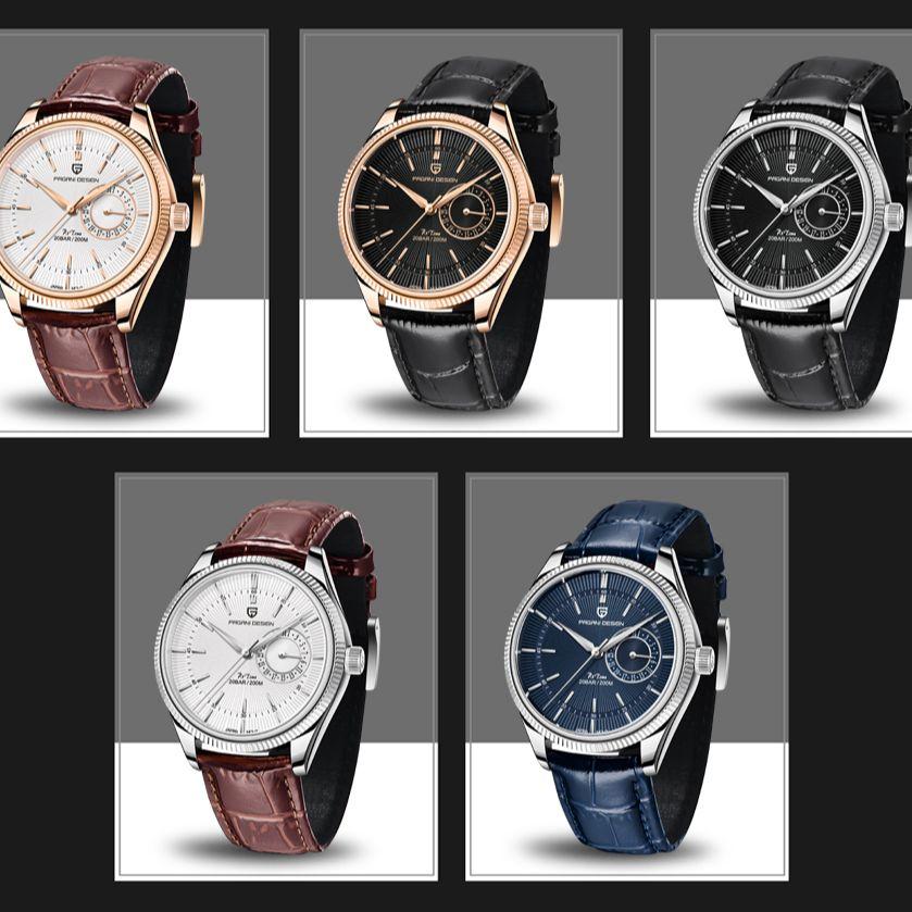 Pagani Design Top Brand New 2021 Mechanical Second Quartz Watch Luxury Sapphire 200m Waterproof Men's Clock enlarge