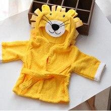 Serviette de bain belle mode enfants dessin animé coton serviette de bain fille garçon bébé peignoir