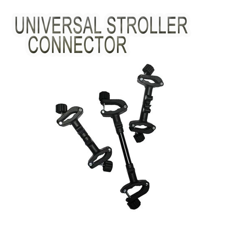 3 pcs Safety Stroller Connector Pram Twins Linker Universal Easy Use Coupler Bush Portable Joint Adjustable Pushchair Accessorie