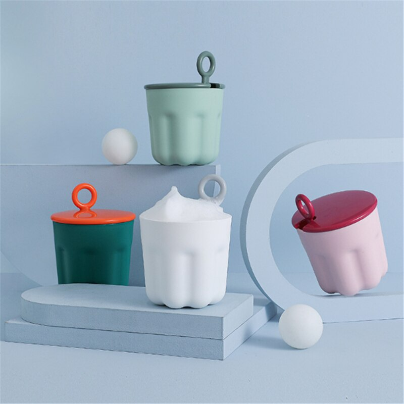 Jelly-Shaped Facial Cleanser Foamer Portable Cute Bubble Cup 2021 Creative New Personal Washing/Cleaning/Care Foam