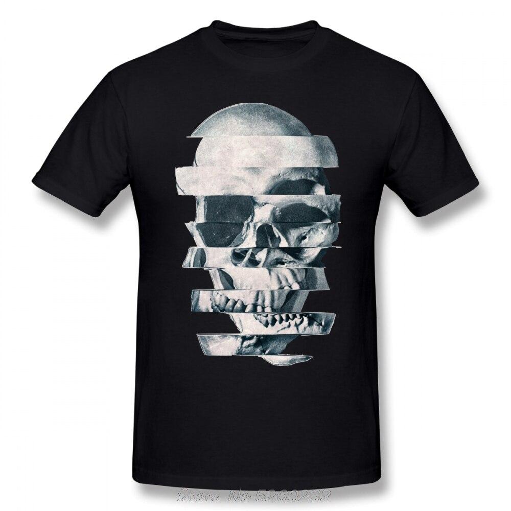 Camiseta de manga corta con estampado de fallo para hombre de Camiseta...