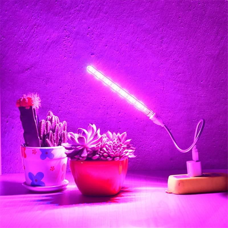 AliExpress - 1pcs 10W Led Grow Light USB Portable LED Plant Grow Light DC5V Full Spectrum Phyto Lamp 21 leds Rotation Flexible Light Indoor