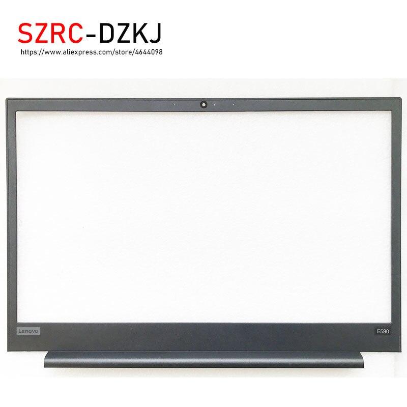 Оригинал, новинка, для Lenovo ThinkPad E580 E585 E590 E595, ЖК-экран, Безель, передняя крышка, корпус, черный 01LW414 AP167000100