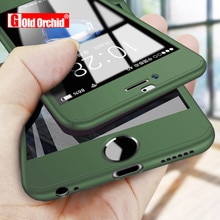 360 Full Cover Phone Case For iPhone 11 12 Pro X XS XR XS MAXPC Protective Cover For iPhone 6 6s 7 8