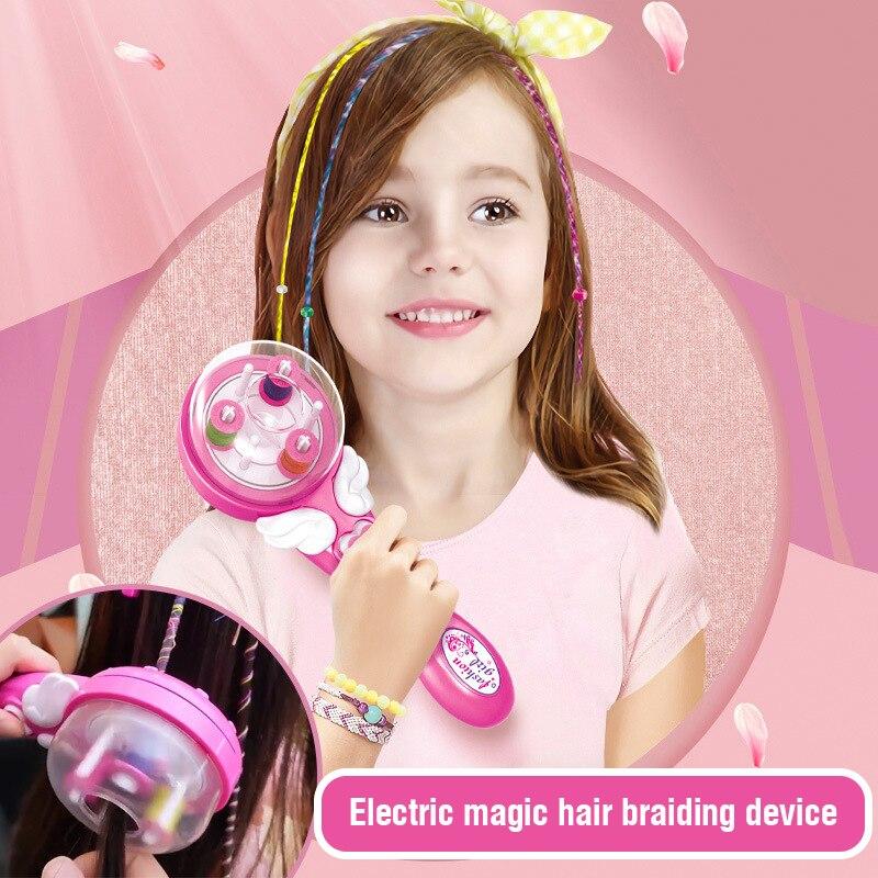 Электрическая автоматическая машинка для плетения волос «сделай сам» инструмент для плетения прически машинка для плетения кос для волос ...