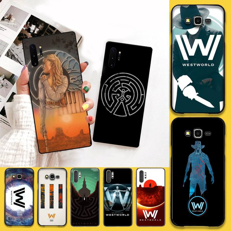CUTEWANAN Westworld TV mostrar teléfono caso para Samsung Nota 7 8 9 10 Lite Plus Galaxy J7 J8 J6 Plus 2018