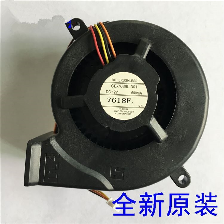 100% novo ventilador do projetor original CE-7039L-301 para CB-S05E/x41/s41/u42/w42