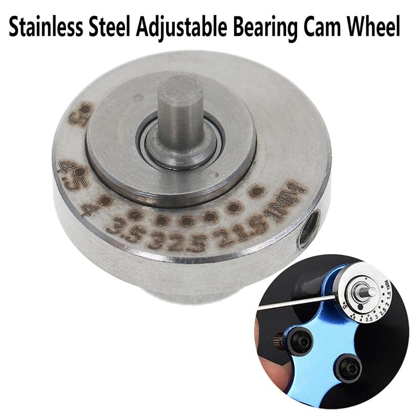Levas ajustables de acero inoxidable, piezas para máquina de tatuaje, accesorios, rueda excéntrica para máquina de tatuaje rotativa