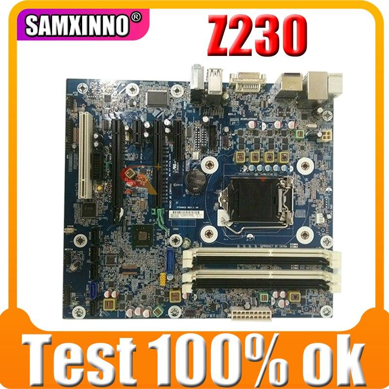 Akemy لوحة أم لمحطة العمل برج HP Z230 698113-601 698113-001 MB 100% تم اختبارها بسرعة الشحن