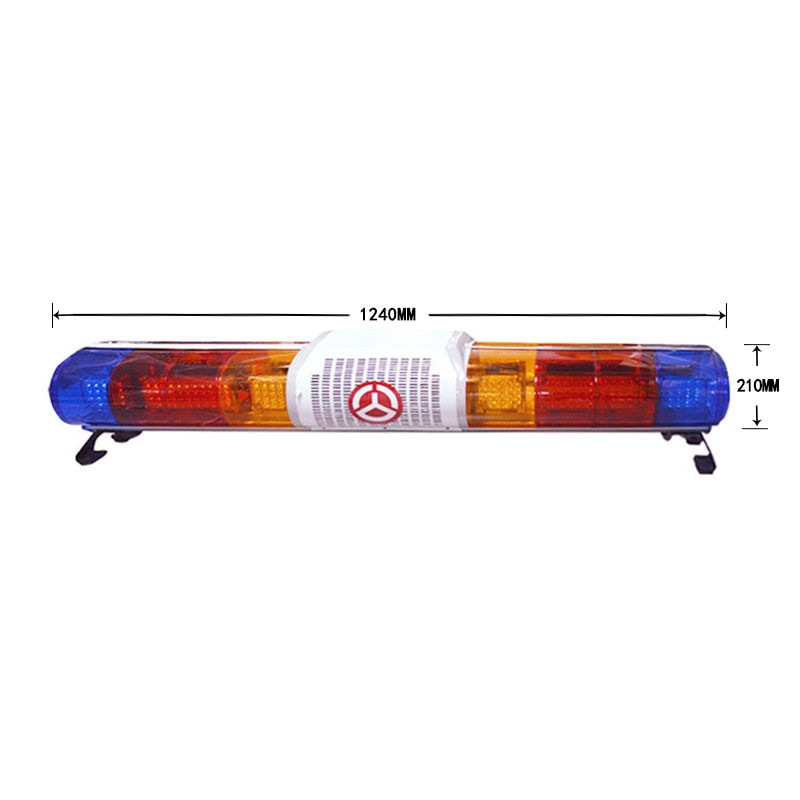 Red/Blue Super Bright Rotator Warning Lightbar Flashing Lamp Security Alarm for Ambulance Fire Truck LED Emergency Warning Lamps enlarge