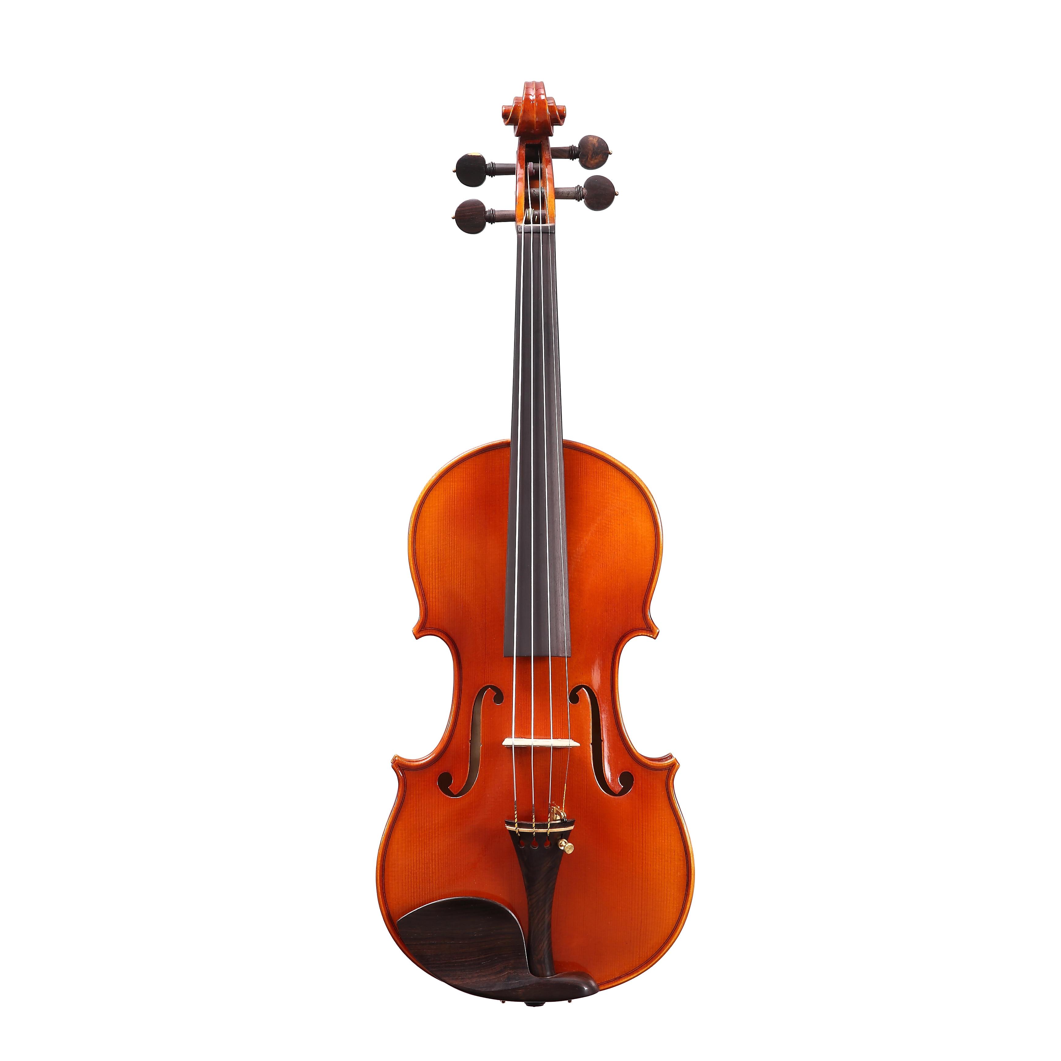 Free Shipping  Copy Stradivarius 1716 100% Handmade Oil Varnish Violin + Carbon Fiber Bow  Foam Case violon FPVN03 enlarge