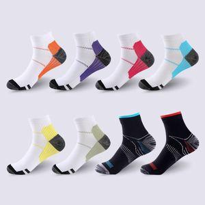 Men women socks elastic pressure compression socks outdoor socks comfortable elastic sports socks trail running cycling socks