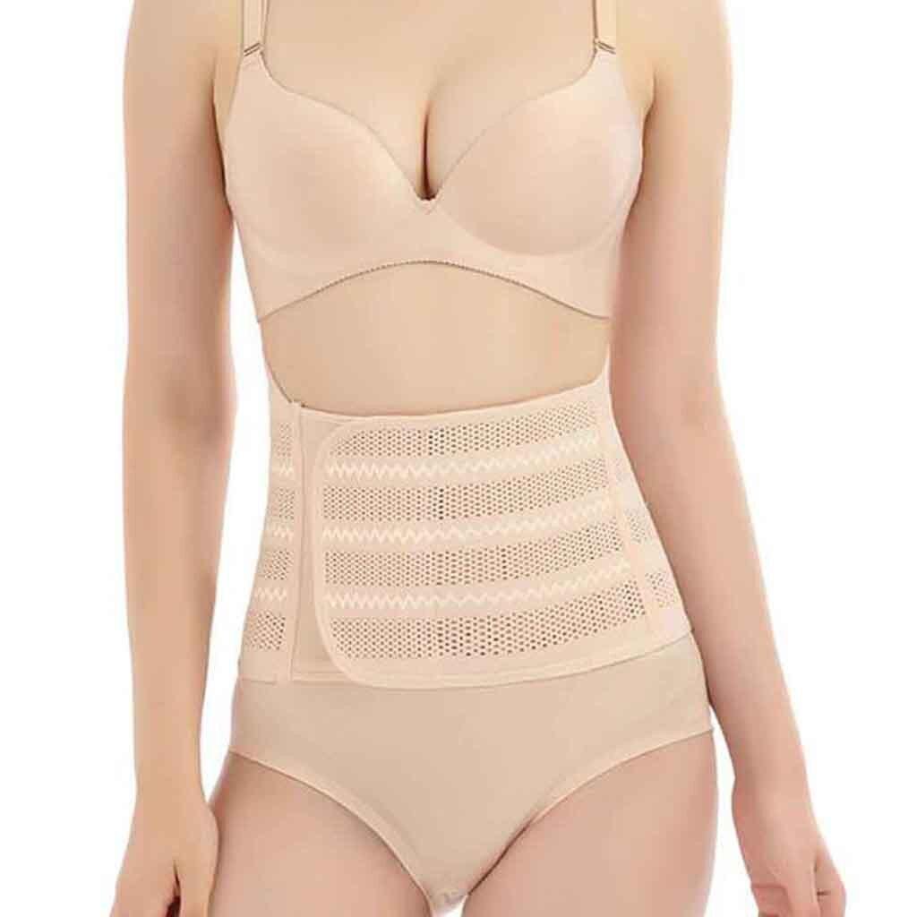 Comfortable Shapers Soft Women Hollow Breathable Body Shaper Abdominal Belt Belt Shapewear Женская Формирующая Одежда