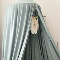 Однотонный балдахин-шатер #1