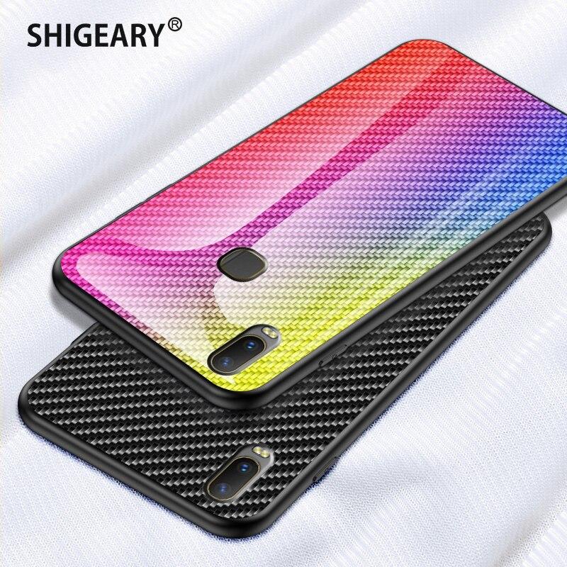 Tempered Glass Cases for VIVO Y11 2019 Case Y17 Cover Plexiglass Coque with Soft Edge for VIVO Y3 Y11 (2019) Protective Fundas