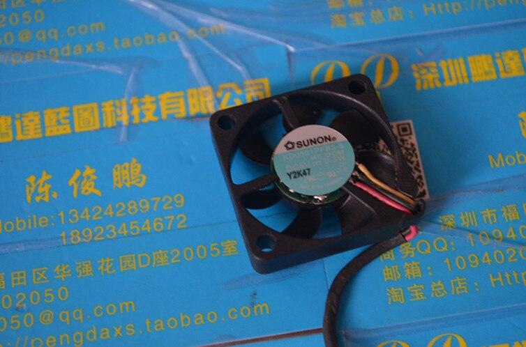SUNON 3 cm/construir un ventilador de refrigeración ultrafino portátil miniatura de alta RPM ventilador 3007 5 v