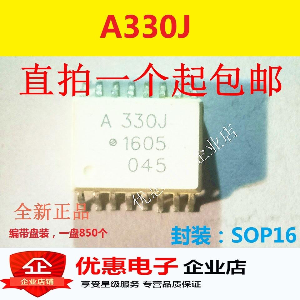 10PCS SOP16 A330J SMD novo chip originais ACPL-330J HCPL-330J