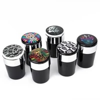 auto interior led lights with cover creative smokeless cup cigarette holder multifunction car supplies universal ashtray