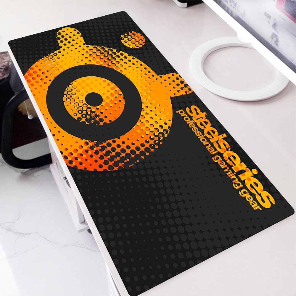 Steelseries Gamer Keyboard Pad Non-slip Xxl Mouse Pad Anime Mousepad Tiger Gaming Accessories Deskmat Gamers Accessories Deskpad