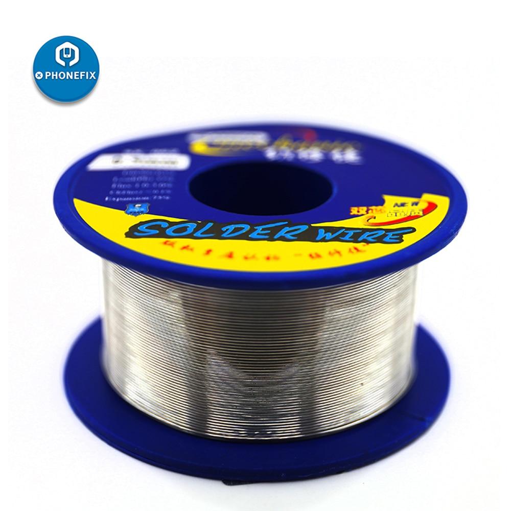 Fio mecânico da lata da ligação 0.3 / 0.5 / 0.6 / 0.8/1.0/mm da solda do fio sx862 da solda para o reparo do iphone ferramentas