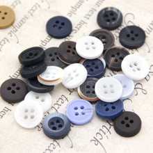 9/10/11mm Colored Shirt Decorative Sewing Men Buttons For Clothing Dress Baby Garment Fashion Mini W