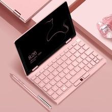 Ordenador portátil Pink Cat de 8,4 pulgadas OneMix3s Netbook i3-10110Y 8G RAM 256GB SSD Pantalla táctil IPS Windows 10