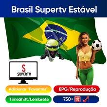Supertv pour Android IPTV Box Supertv Apk 1 Mes brésil portugais EPG lecture HD 4K TV Stable populaire Supertv iptv brésil