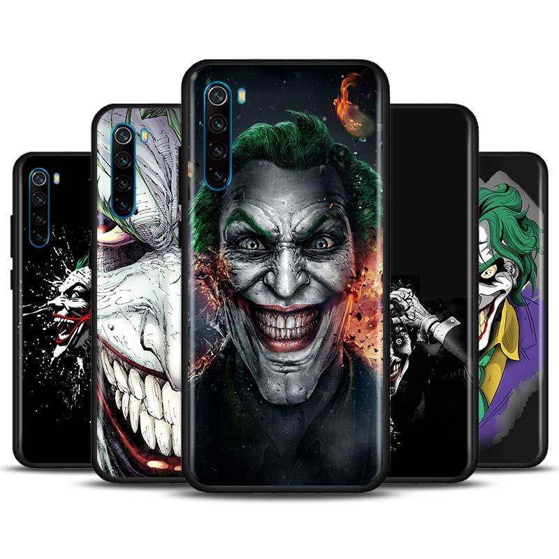 Jim Lee Batman Joker Phone Case for Xiaomi Redmi Note 7 8 8T 9S Note 8 9 Pro Redmi 6A 7A 8A K20 K30 Pro Silicone Soft Cover