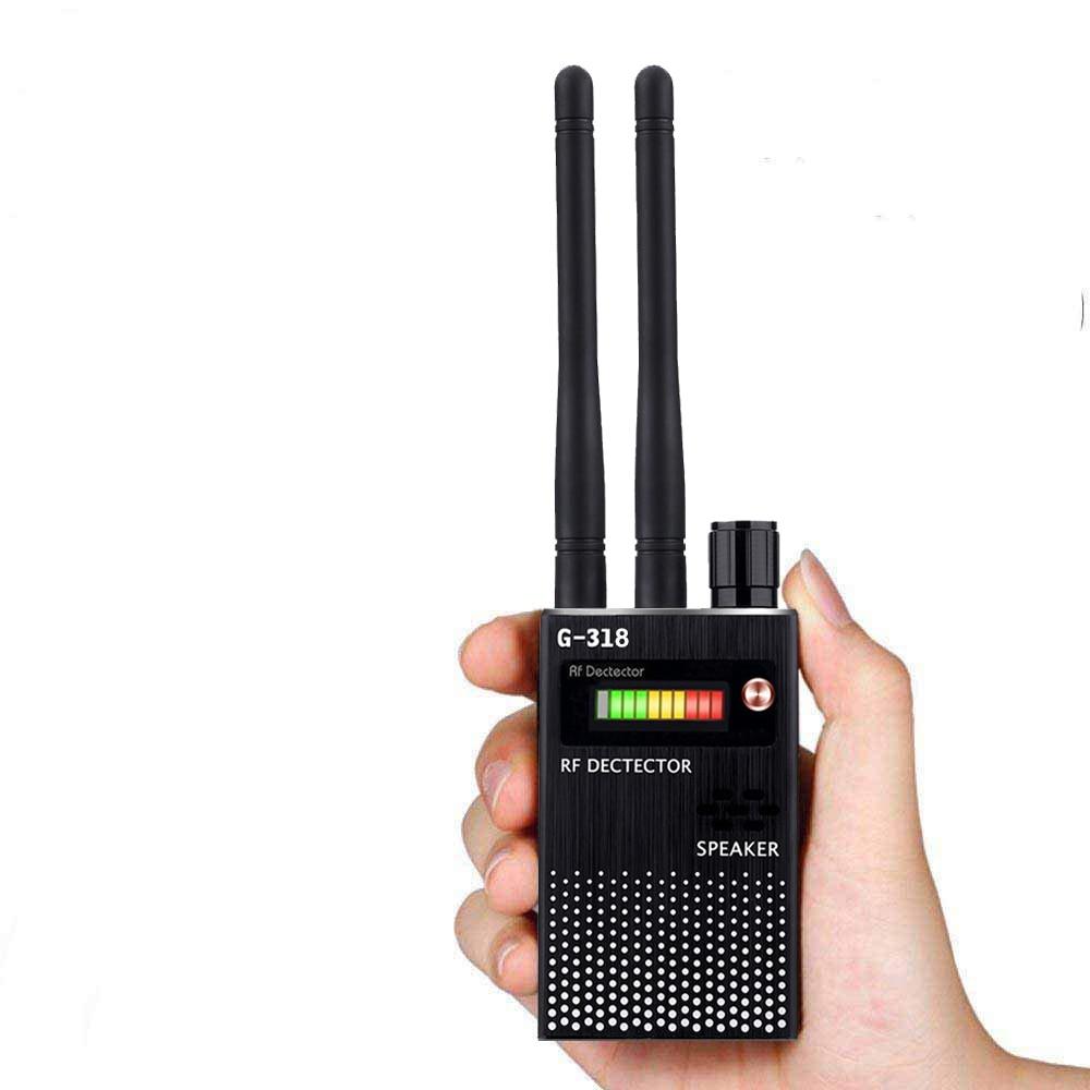 2 Antenna Anti Spy RF CDMA Signal Finder for GSM Bug RF Tracker Wireless  Anti -Camera Anti -Eavesdropping Radar Radio Scanner enlarge