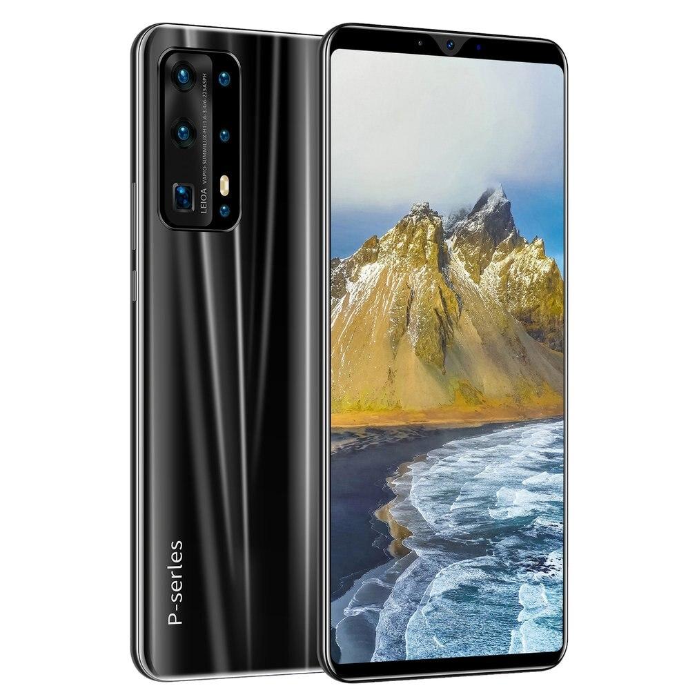 هاتف ذكي P40 ، هاتف خلوي بشاشة 5 بوصات ، 3G ، ذاكرة وصول عشوائي 512 ميجابايت ، التعرف على الوجه ، بصمة حقيقية ، سعة عالية