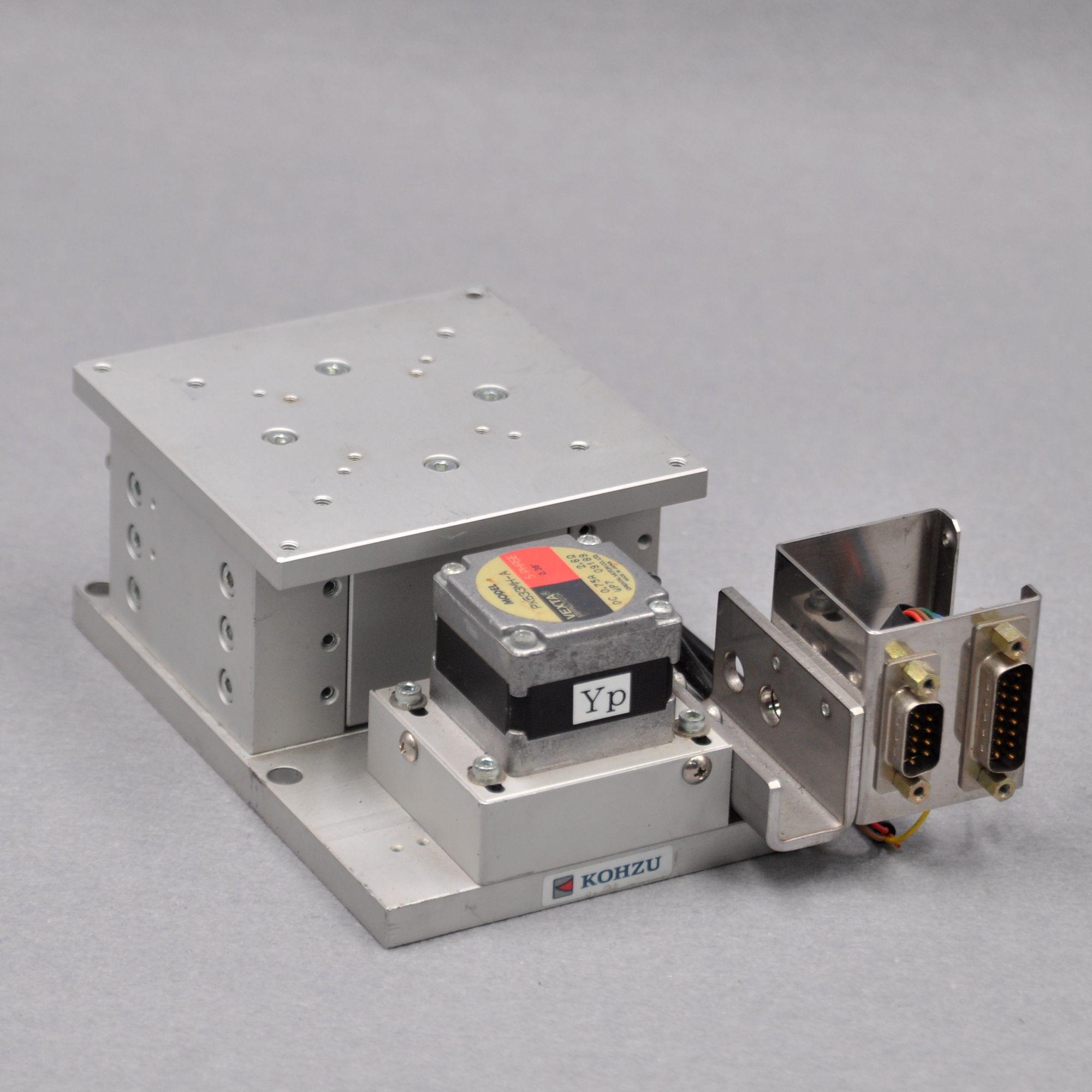 Z axis ZA10-12 Kozu Seiki optical electric precision lifting fine adjustment slide table 100 * 100mm stroke 12mm