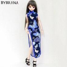 Bybrana BJD 1/3 1/4 кукла Ретро cheongsam кукольная одежда