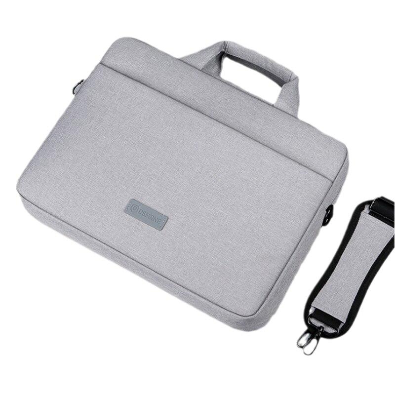 Men's briefcase large-capacity water-repellent business computer bag men's 15.6-inch portable messenger laptop shoulder bag