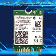 2.4G/5G M.2 NGFF adaptateur sans fil 9260NGW 1.73Gbps double bande WiFi carte réseau bureau double bande sans fil adaptateur Wifi