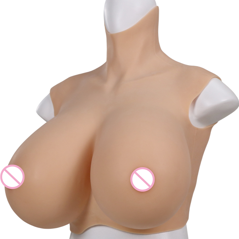 Realistic Silicone Huge Fake Breast Forms Boobs for Crossdressers Drag Queen Shemale Crossdresser Prosthesis