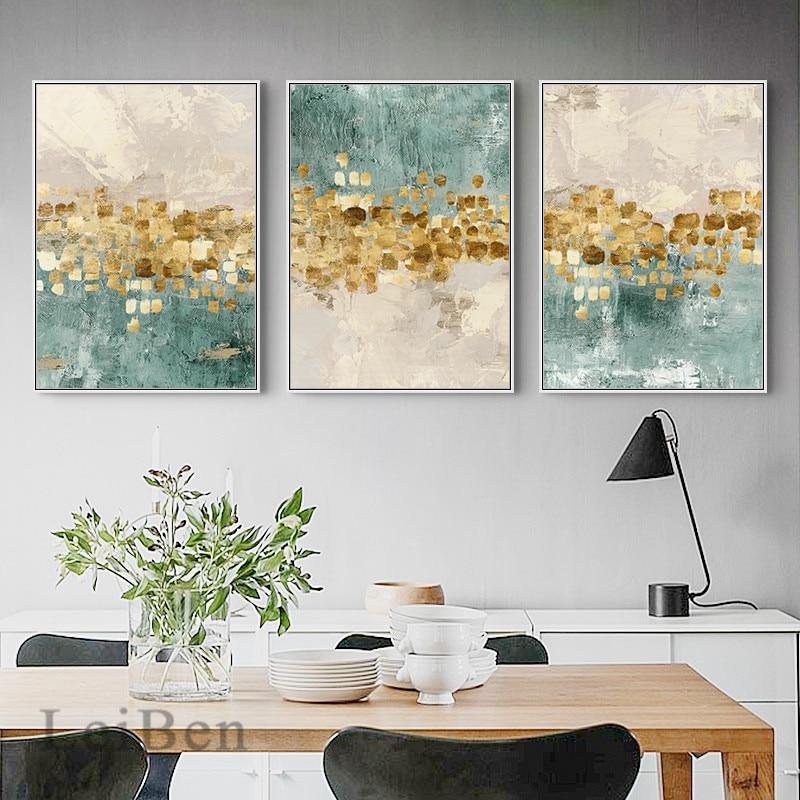 Abstract Gouden Munten Poster Canvas Schilderij Nordic Home Decor Fashion Wall Art Print Foto Voor Woonkamer Cuadros Decoratie