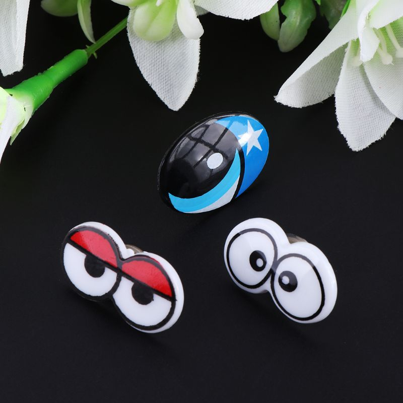 G2AD 10pcs Plastic Cartoon Safety Eyes For Toy Bear Doll Puppet Stuffed Animal Crafts Children DIY With Washers