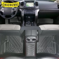 for toyota land cruiser j200 2016 2020 auto car floor mats all weather tpe foot mats odorless pad tray mat interior accessories