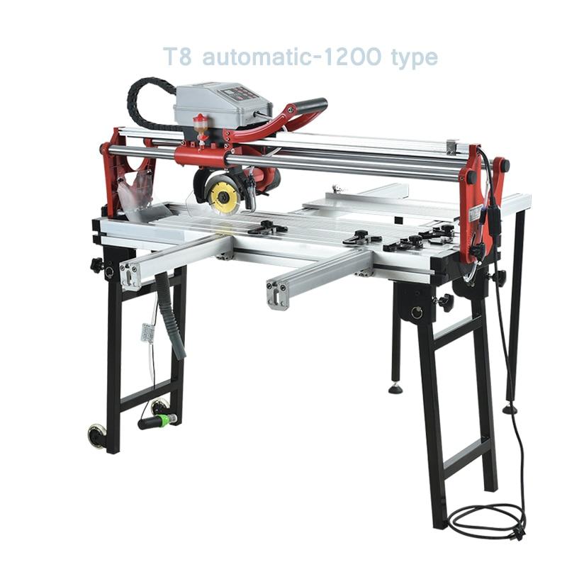 Multifunctional electric desktop cutting machine Fully automatic ceramic tile water cutting machine can cut 45° obliquely