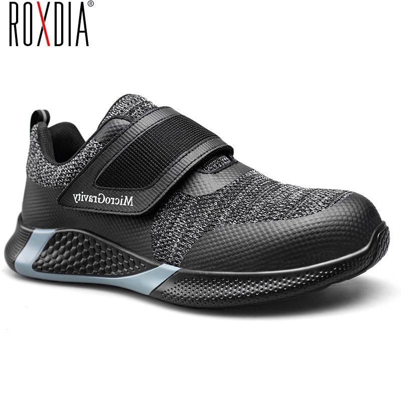 ROXDIA-أحذية أمان للرجال والنساء ، أحذية عمل KPU ، حماية رأس فولاذية خفيفة ، RXM604